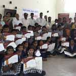 Natmo Quiz Competition Nethra Blind Students