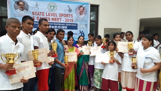 STATE LEVEL SPORTS GAMES MEET FOR DISABLED